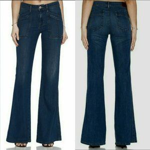 Level 99 Flare Trouser Jeans in Rouss Wash